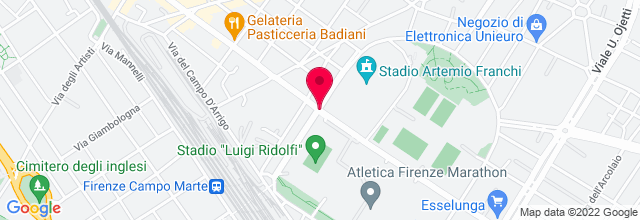 Map for Stadio Artemio Franchi