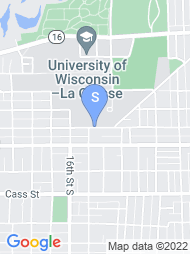 University of Wisconsin La Crosse map