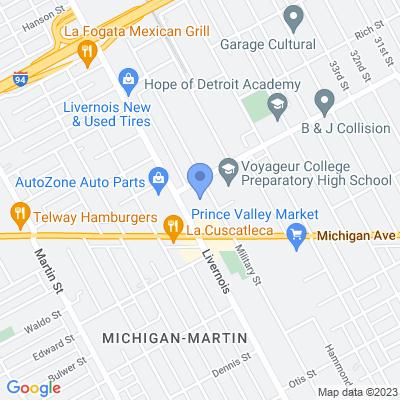 4321 Military Street, Detroit, MI 48210, USA