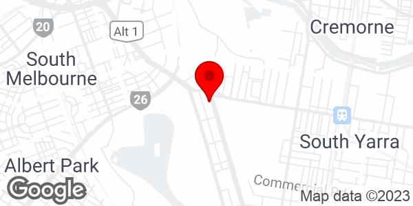 Google Map of 434, St Kilda Rd, Melbourne, Australia