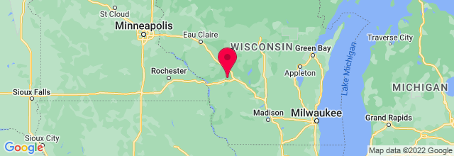 Map of Fort Mccoy, WI, US
