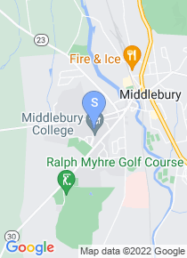 Middlebury College map