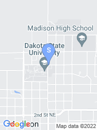 Dakota State University map
