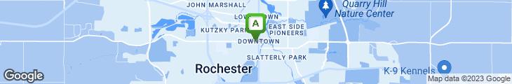 Map of J.P. Zubay & Co. City Market