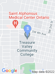 Treasure Valley Community College map