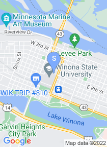 Winona State University map