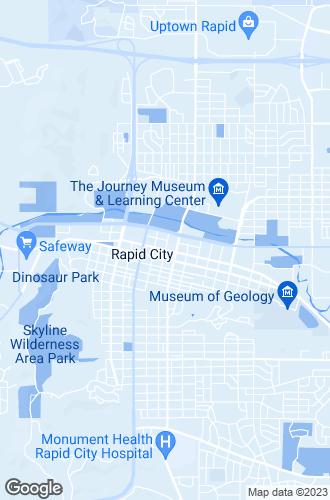 Map of Rapid City