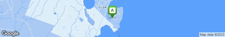 Map of Marcel's at The Samoset Resort