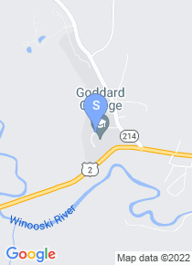 Goddard College map
