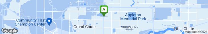 Map of Apple City Family Restaurant