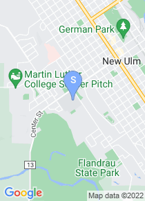 Martin Luther College map
