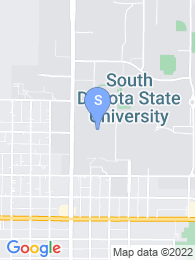 South Dakota State University map