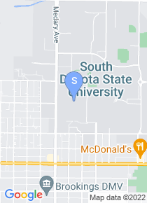 South Dakota State map