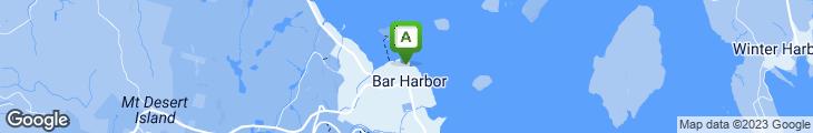 Map of Geddy's Bar Harbor