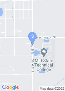 Mid State Technical College map