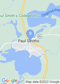 Paul Smiths College map