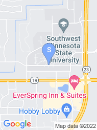 Southwest Minnesota State University map