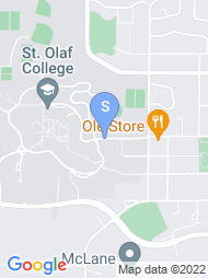 St Olaf College map
