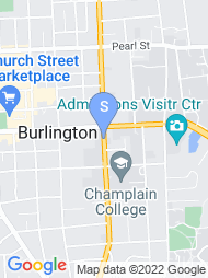 Champlain College map