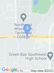 Northeast Wisconsin Tech map