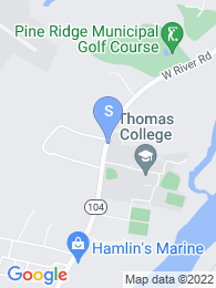 Thomas College map