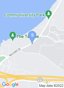 UW Green Bay map