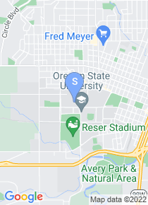 Oregon State University map