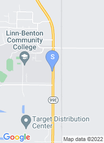 Linn Benton Community College map