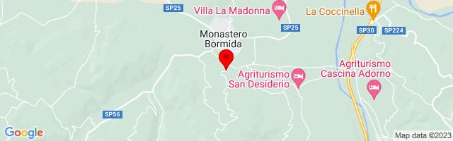 Google Map di 44.642693008620256,8.326773047447205