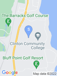 Clinton Community College map