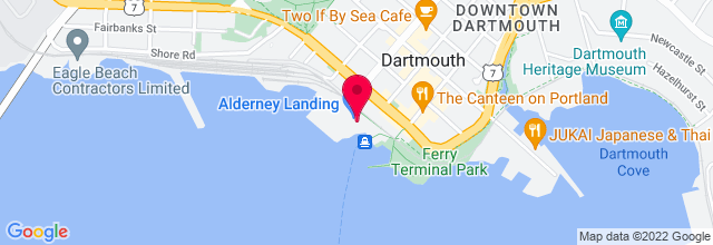 Map for Alderney Landing