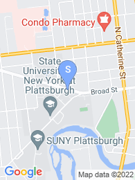 SUNY Plattsburgh map