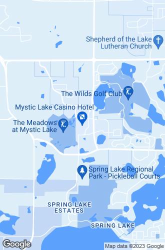 Map of Prior Lake