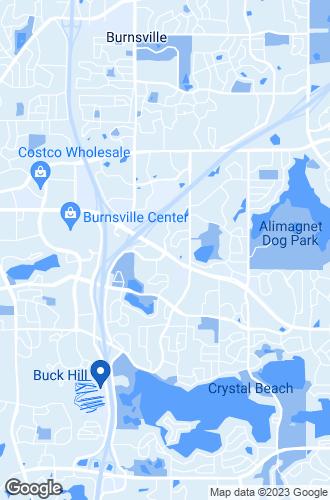 Map of Burnsville