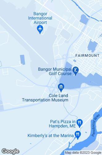 Map of Bangor