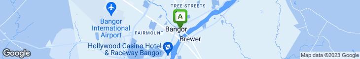 Map of Thistles Restaurant