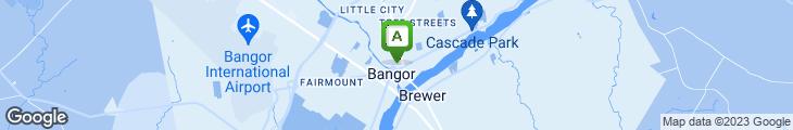Map of New Moon Restaurant