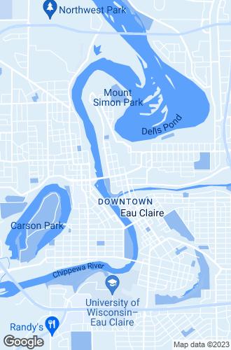 Map of Eau Claire
