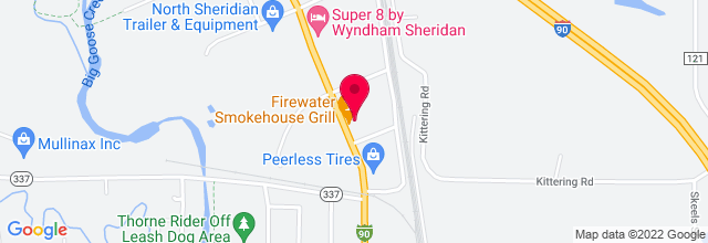 Map for Trails End Concert Park