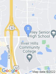 Inver Hills Community College map
