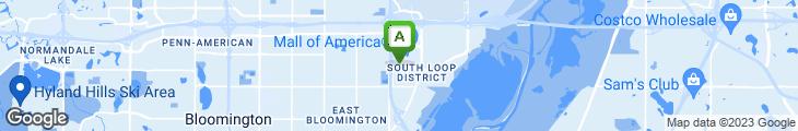Map of Kokomo's Island Cafe