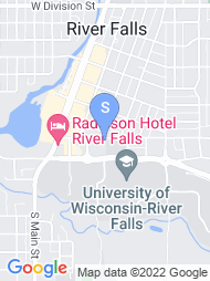 University of Wisconsin River Falls map