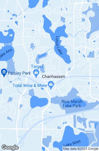 Map of Chanhassen