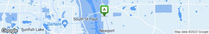 Map of Tunicci's Newport Deli