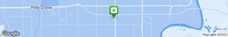 Map of 29 Pines Restaurant