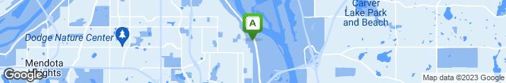 Map of TreVina Restaurant