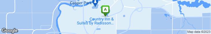 Map of Bridgewater Restaurant