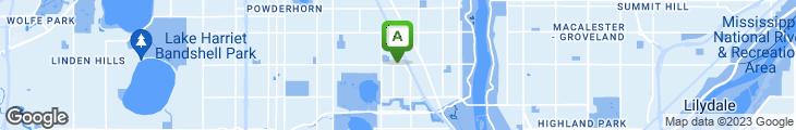 Map of Chris & Rob's