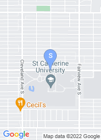 St Catherine University map
