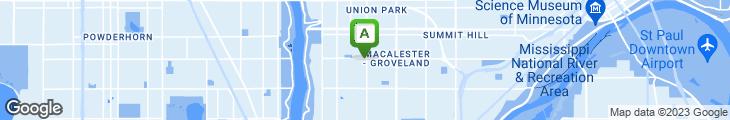 Map of Groveland Tap